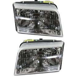 Headlight Lamp Left-and-right Fo2503277c Fo2502277c 9w3z13008b 9w3z13008a