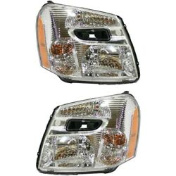 Headlight Lamp Left-and-right For Chevy Lh And Rh Equinox Gm2503254c, Gm2502254c