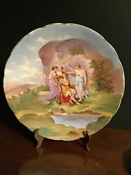 Clearance Empire Works England Cabinet Plate Kaufmann Landscape Numbered