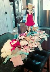 """18"""" My Life Doll & Outfits Pajamas Dresses Swimsuit Shoes Pets American Girl"""