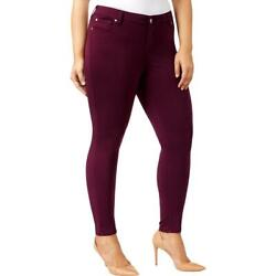 Celebrity Pink Womens Jayden Colored Mid-Rise Skinny Jeans Plus BHFO 9690