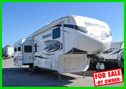 2010 Keystone Montana 3400RL 34' Fifth Wheel 4 Slide Fireplace Hitch ID c891558