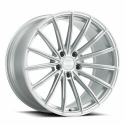 20 Xo London Silver 20x9 20x10.5 Concave Wheels Rims Fits Chevrolet Camaro