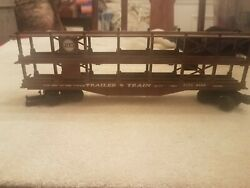 Lionel N And W G Scale Trailer Train Used Rttx 9129