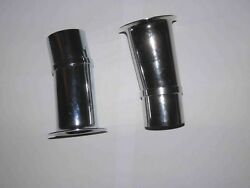 Weber 42 Dcoe Carburetors Inclined Velocity Stacks And Tabs Cone Type