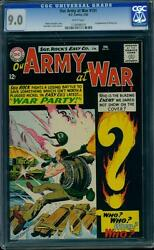 Our Army At War 151 Cgc 9.0 White Pages Silver Age Key Dc Comic L@@k