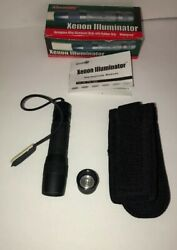 Aimshot Xenon Illuminator Flashlight Tx-75 Rare Vintage Collectible Ships N 24hr