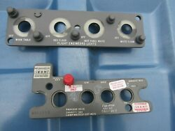 2 Aircraft Airplane Instrument Panel Control Dc9 Dc10 Face