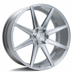 24 Velgen Vft8 Silver 24x10 Forged Concave Wheels Rims Fits Ford Expedition