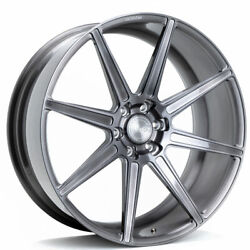 20 Velgen Vft8 Black 20x10 Forged Concave Wheels Rims Fits Ford F-150