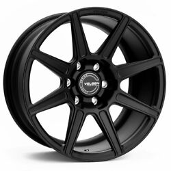 18 Velgen Vft8 Black 18x9 Forged Concave Wheels Rims Fits Ford F-150