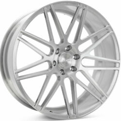 24 Velgen Vft9 Silver 24x10 Forged Concave Wheels Rims Fits Ford F-150