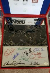 Avengers Movie Metal Art Signed By The Cast - #3 of 15 Ever Produced - RARE!!