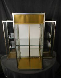 Unusual Vintage Cody Perfume Lighted Countertop Display Cabinet Case 1950's 60's