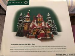 The North Pole Series,16 Porcelain Christmas Set 1999-2006 And Mickey Carousel