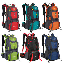 40L 50L 60L Outdoor Hiking Backpack Camping Shoulder Bag Travel Sport Waterproof $23.98