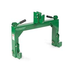Titan Attachments Quick Hitch Cat 1 And Cat 2 3 Point Green Steel