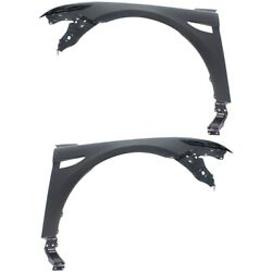 Set Of 2 Fenders Front Left-and-right Fo1241277c, Fo1240277c Lh And Rh Pair