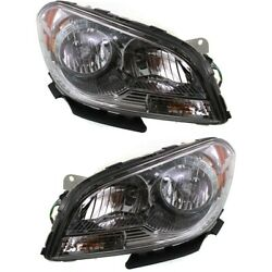 Gm2503307c Gm2502307c Headlight Lamp Left-and-right For Chevy Lh And Rh Malibu
