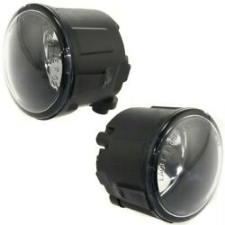 Ni2590103c Fog Lights Lamps Set Of 2 Front Left-and-right Sedan Lh And Rh Pair