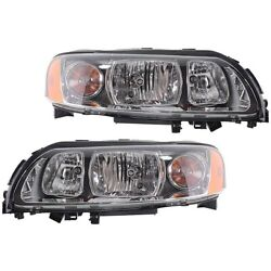 Headlight Lamp Left-and-right Vo2503114 Vo2502114 312768310 312768328 Lh And Rh