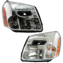Headlight Lamp Left-and-right For Chevy Gm2503254 Gm2502254 15888059 15888058