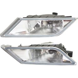 33951tk8a01, 33901tk8a01 Fog Lights Lamps Set Of 2 Front Left-and-right Pair