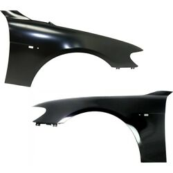 Pair Set of 2 Fenders Front Left-and-Right for 750 760 BM1240136, BM1241136