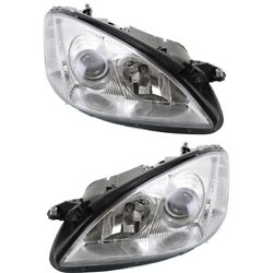 Headlight Lamp Left-and-right For Mercedes S Class Mb2503160 Mb2502160 Sedan