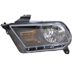 Headlight Lamp Left Hand Side Driver Lh Coupe For Mustang Fo2502276 Ar3z13008d