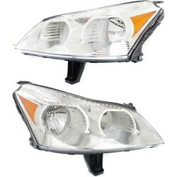 Gm2503330c Gm2502330c Headlight Lamp Left-and-right For Chevy Lh And Rh Traverse