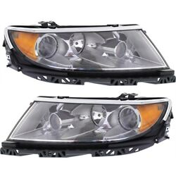 Headlight Lamp Left-and-right Fo2503288c Fo2502288c Ah6z13008a Ah6z13008b