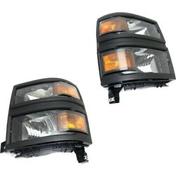 Headlight Lamp Left-and-right For Chevy Gm2503395, Gm2502395 23380553, 23380552