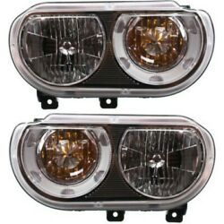 Headlight Lamp Left-and-right Ch2519137c, Ch2518137c 5028777aa, 5028776aa