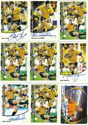 2003 Kryptyx Australia Rugby Union Card Collectable Cards Master Collection Rare