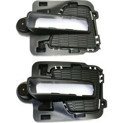Set Of 2 Fog Light Trims Lamps Left-and-right Lh And Rh Fo1038156 Fo1039156 Pair