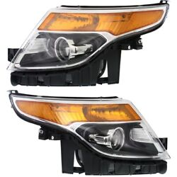 Headlight Lamp Left-and-right Fo2503328 Fo2502328 Db5z13008a Db5z13008b