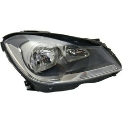 Headlight Lamp Right Hand Side For Mercedes C Class Passenger Rh Coupe Mb2503186