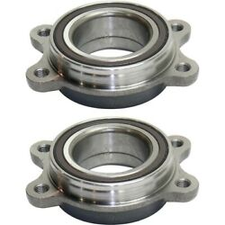 Set Of 2 Wheel Hubs Front Or Rear Left-and-right Lh And Rh For A4 Quattro A6 Pair