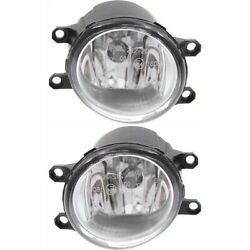 Fog Lights Lamps Set Of 2 Front Left-and-right For 4 Runner Lh And Rh Tacoma Pair