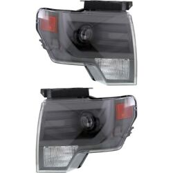 Fo2519122 Fo2518122 Hid Headlight Lamp Left-and-right For F150 Truck Hid/xenon