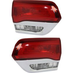 Tail Lights Lamps Set Of 2 Left-and-right Inside Ch2803105c, Ch2802105c Pair