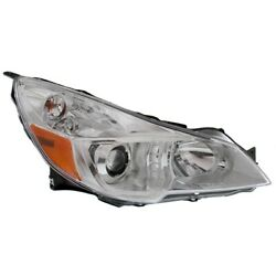 Headlight Lamp Right Hand Side Passenger Rh Su2503143 84001aj20a For Outback