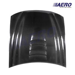Cobra R Heat Extractor Style Carbon Fiber Hood For 99-04 Ford Mustang - Aero -