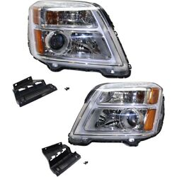 Headlight Lamp Left-and-right Gm2502435 Gm2503435 84064626 84064627 Lh And Rh