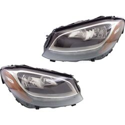 Mb2503220, Mb2502220 Headlight Lamp Left-and-right For Mercedes C Class Coupe