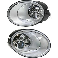 Headlight Lamp Left-and-right For Vw Lh And Rh Beetle 06-10 Vw2518109 Vw2519109