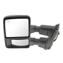 Fo1320491 Mirror Left Hand Side Heated For F250 Truck F350 F450 F550 Driver Lh