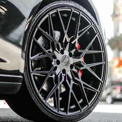 20 Xo Phoenix Black 20x9 20x11 Forged Concave Wheels Rims Fits Ford Mustang