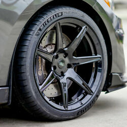 19 Gt7-s Custom Full Forged Concave Wheels Rims Fits Ford Mustang Gt